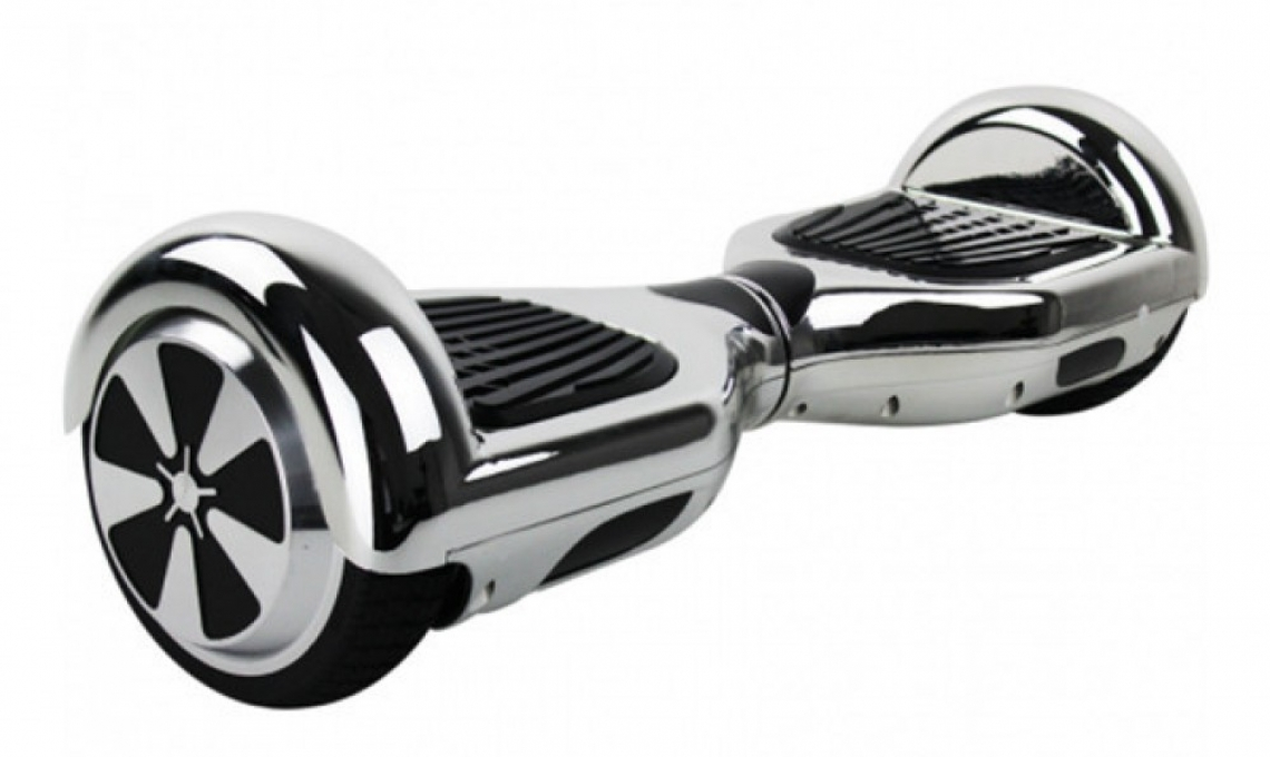 Hoverboard 6.5 inch Smart Balance Chrome- Bluetooth,carrying bag,remote control