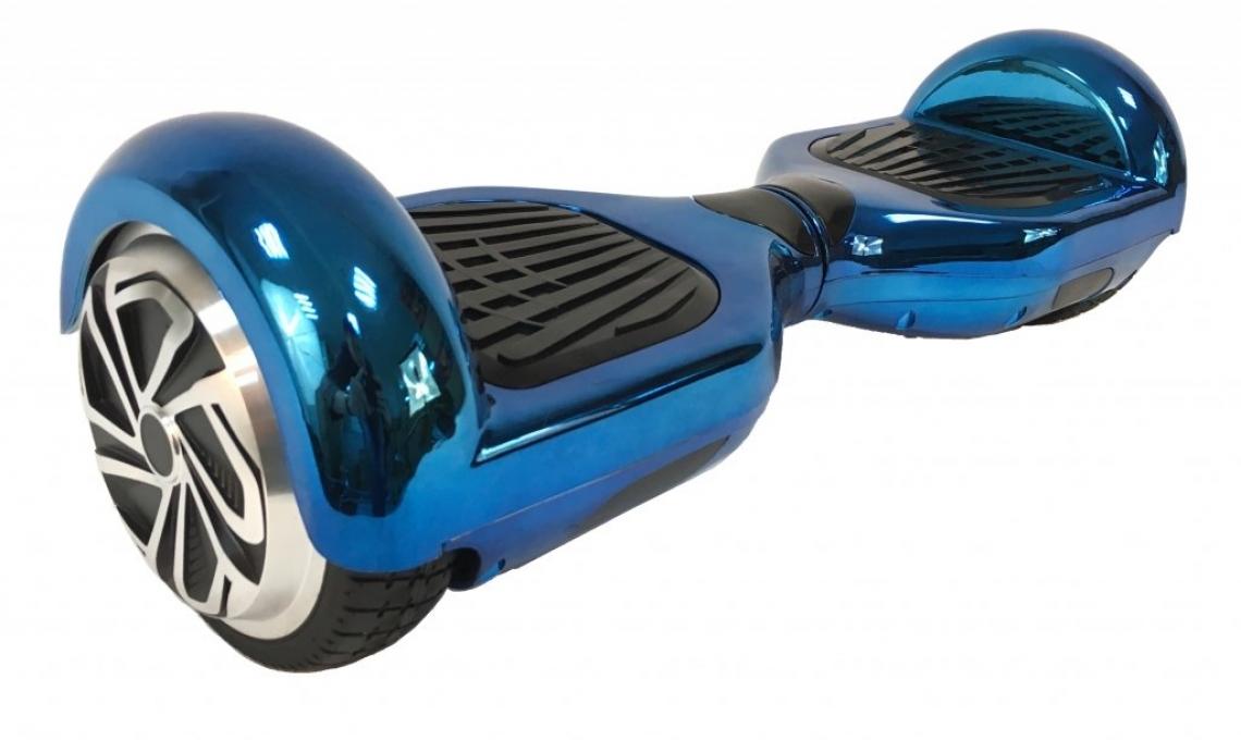 Пролетна Промоция! Ховърборд 6.5 инча Smart Balance Хром- Bluetooth,зарядно,чанта.