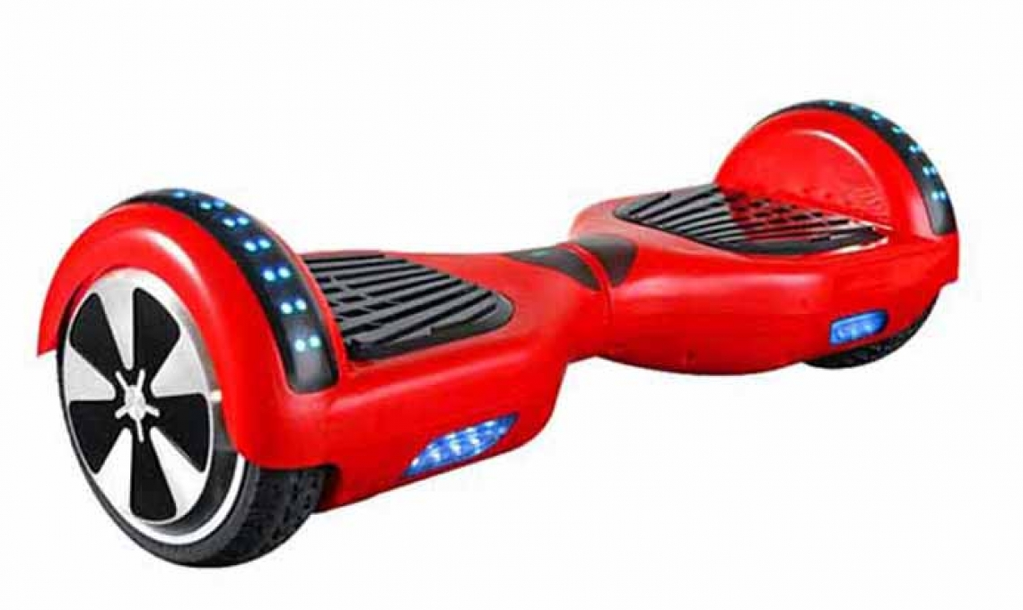 Hoverboard 6.5 inch Smart Balance Monochromatic- Bluetooth,carrying bag,remote control