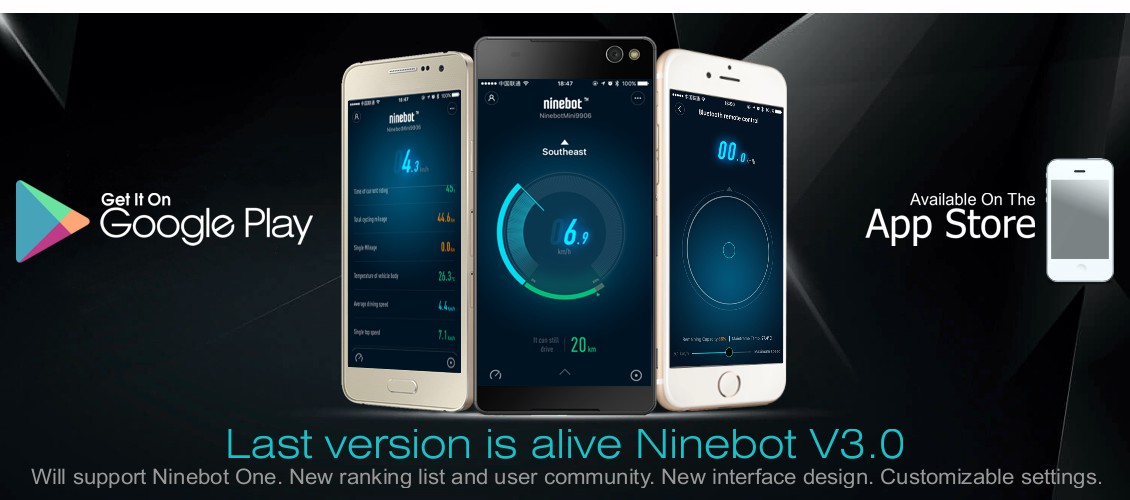 App/Support Ninebot, Hoverboard Bulgaria